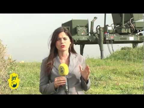 Israeli Military Leaders Discuss Gaza Rockets: General Gavish & Colonel Shenar at Iron Dome Radar