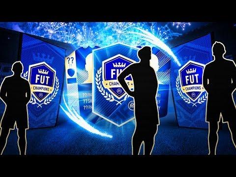 3 x TOP 100 TOTS FUT CHAMPS REWARDS! INSANE BLUE PULLS! - FIFA 18 Ultimate Team
