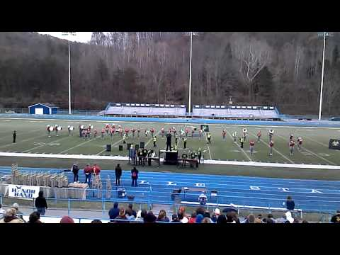 Poca high school marching band toxic 2012 11/2/12