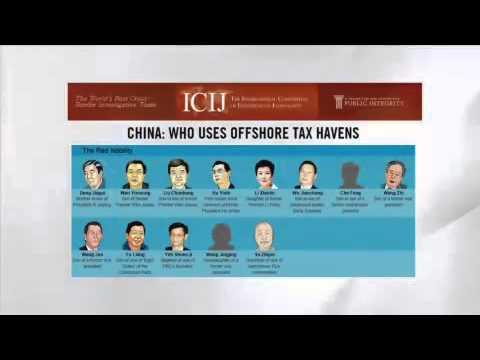 ICIJ 홈페이지...역외탈세 중국 인사는 누구? / YTN
