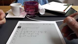 Doing maths on the reMarkable tablet