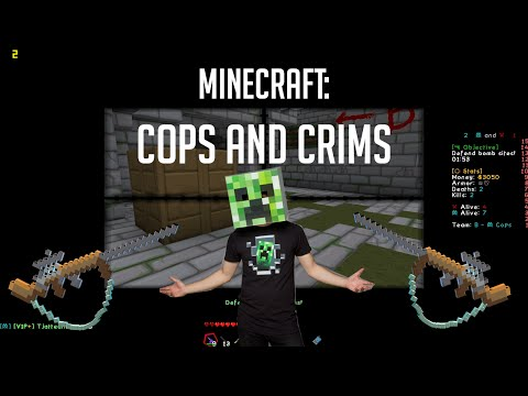 Minecraft: Cops And Crims [CS:GO Minessä!] Ilmainen