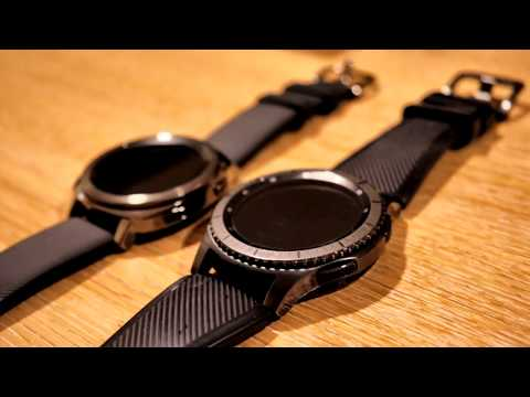 New Samsung Gear Sport Smart Watch - UK Unboxing and Gear S3 comparison