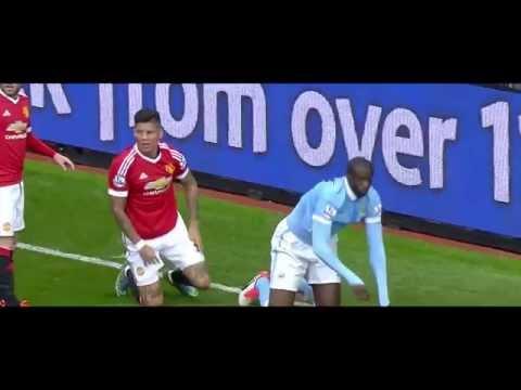 Marcos Rojo vs Man City HD 720p