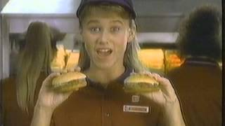 Christine Taylor in 1987 Burger King Commercial