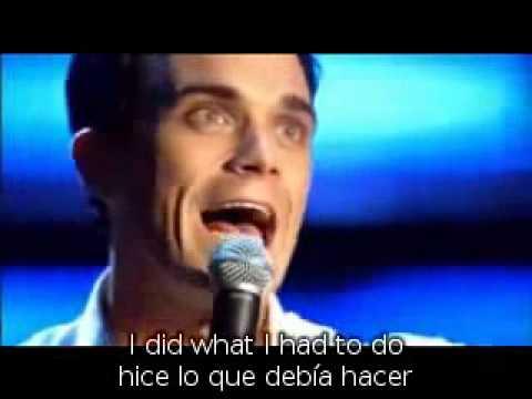Robbie Williams My Way subtitulos ingles español