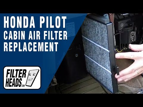 Cabin air filter replacement- Honda Pilot