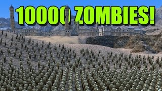 10000 ZOMBIES RICHTUNG STADT! - Ultimate Epic Battle Simulator #02 | Ranzratte1337