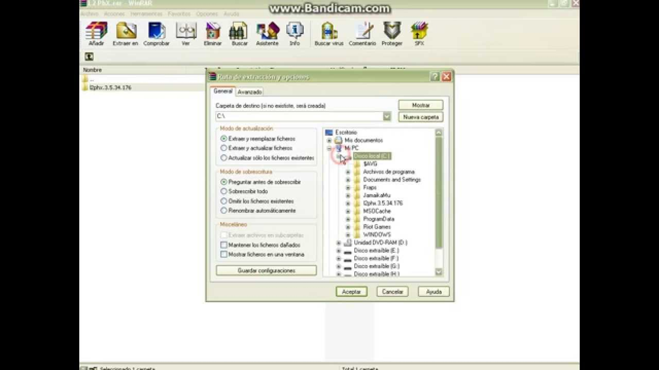 2) меняем имя у: l2phxexe, папки с этим exe, окна пх (в настройках)