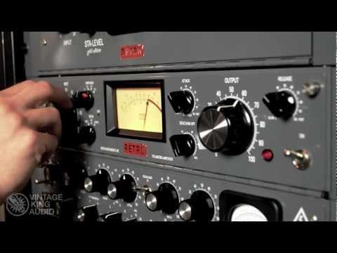 Download Lagu Vintage King | Hear the Gear: Retro 176 Tube Limiting Amplifier MP3 Free