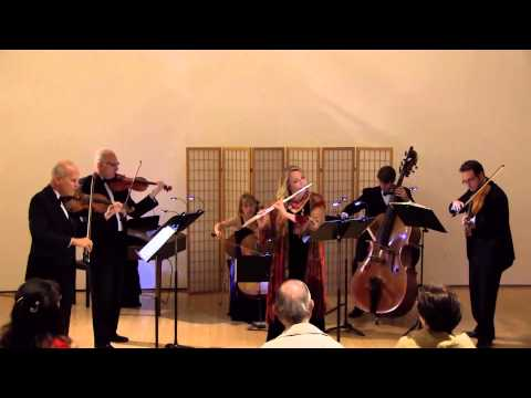 J.S. Bach's Orchestral Suite in B Minor performed by CAMARADA