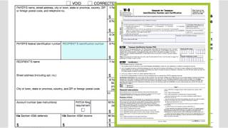 How to fill out form 1099-misc?