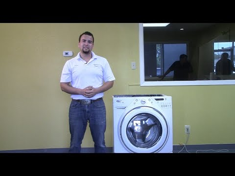 ApplianceRepairVBlog#2-Replacing the rear bearing on a Whirlpool Duet Washing Machine
