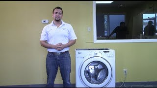 washing machine makes loud noise during spin cycle