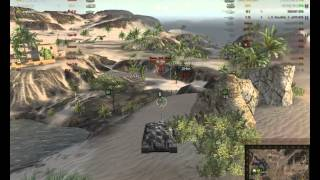 World of Tanks gameplay ПТ-САУ