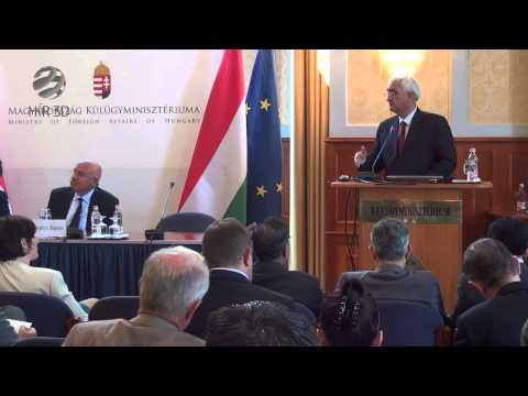 Speech of Indian Foreign Minister Salman Khurshid in the Hungarian Ministry of Foreign Affairs