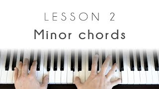 Minor chords - Piano Lesson