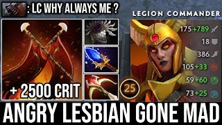 When Angry Lesbian Gone Mad | WTF 8 Seconds Duel + 2500 Crit Ez Counter Ursa by Top LC Spammer DotA2