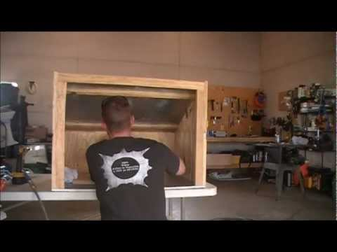 Homemade Gunsmith Spray Booth by HPFirearms