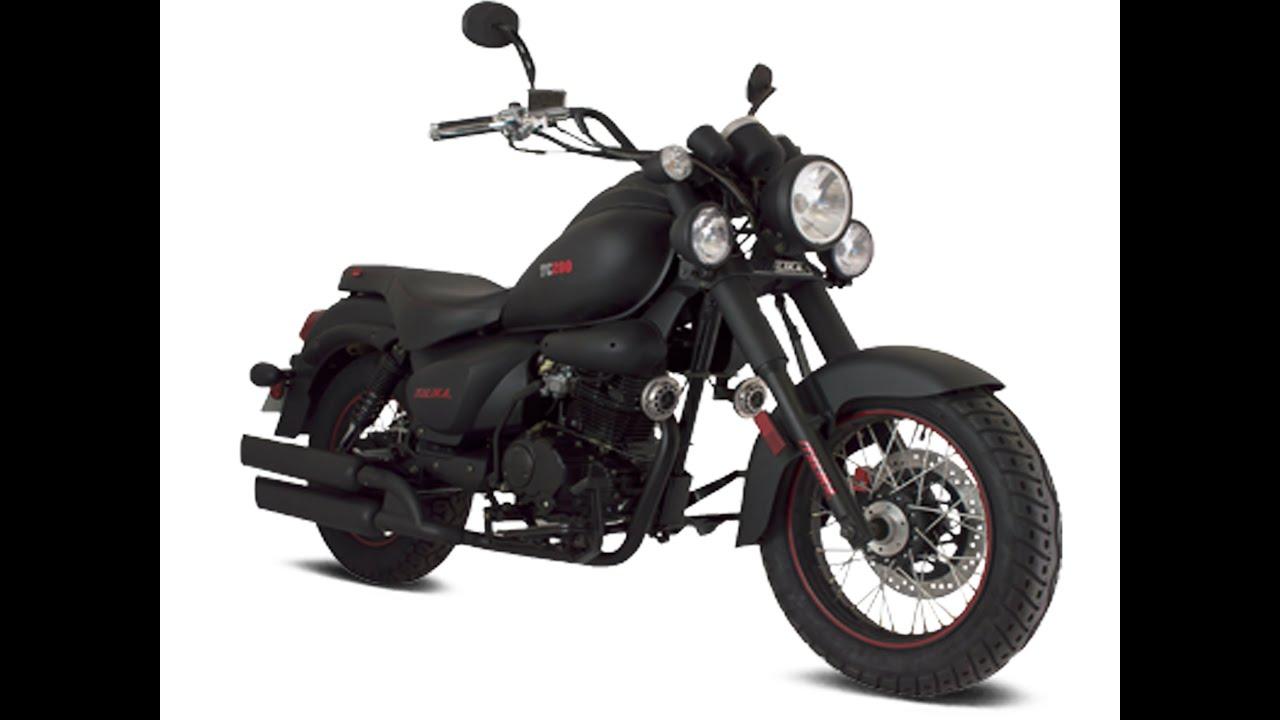 reseña de la moto ITALIKA tc 200 - YouTube