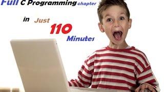 C Programming( Full Chap 5 in just 110 mins) | HSC ICT