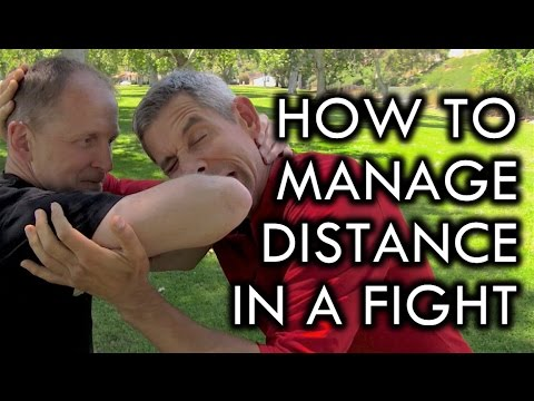 How to Manage Distance for Self-Defense and Fighting with Randy Brown
