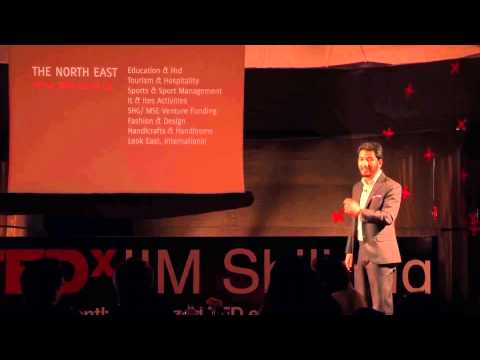 Unconventional Inspiration in North East India: Mark Laitflang Stone at TEDxIIMShillong