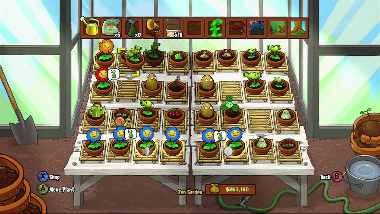 Plants vs Zombies Zen Garden Plants vs Zombies Zen