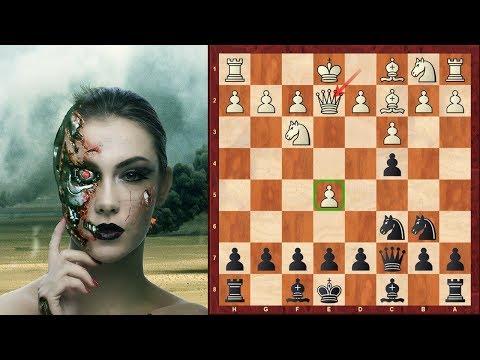 Amazing Game: Houdini (Chess Engine) Immortal Game! vs Rybka - 2011 match, Game 1 - Sicilian Defence