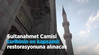 Sultanahmet Camisi en büyük restorana giriyor