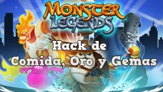 Monster Legends Hack 2016 - Hack de Recursos Infinitos (MARZO) (GRATIS)