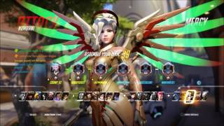 Overwatch Competitive- Gold Eliminations with Mercy