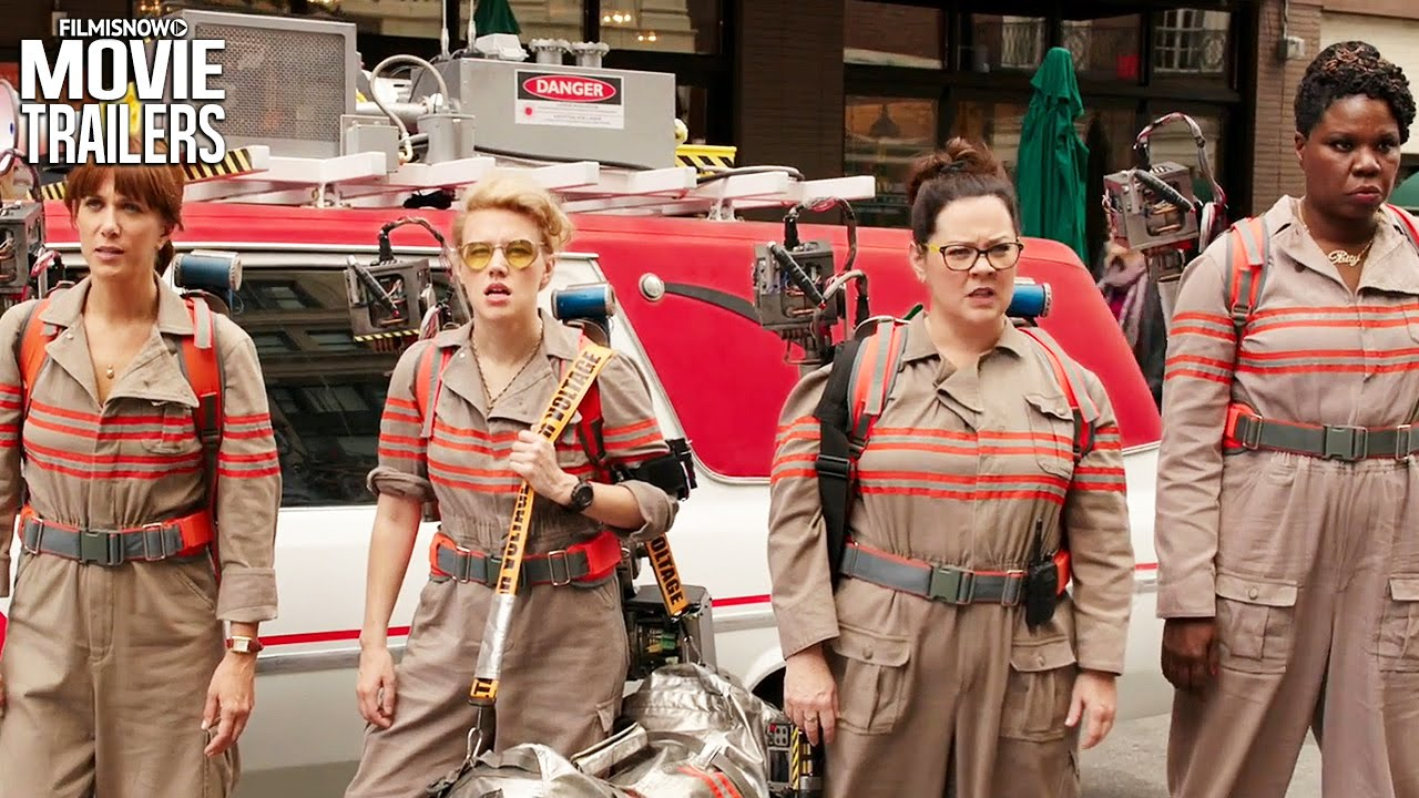 Ghostbusters ft. Kristen Wiig, Chris Hemsworth - Official Trailer [Sci-Fi 2016] HD