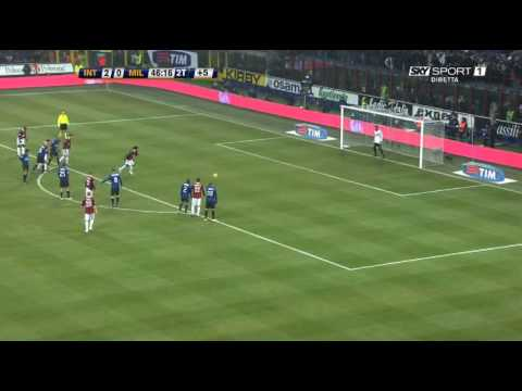 Julio Cesar VS Ronaldinho 24-1-2010 Video