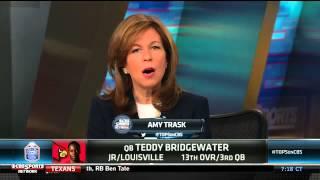 Amy Trask and Jason La Canfora on Teddy Bridgewater