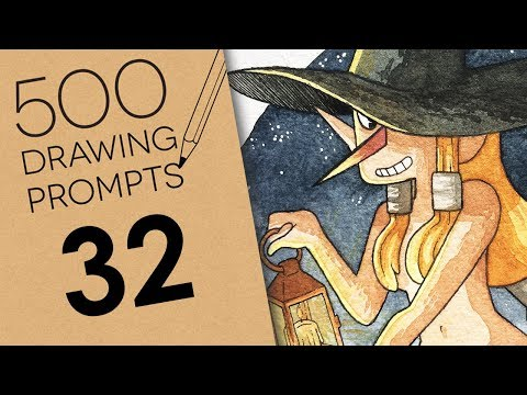 500 Prompts #32 - NUDE IN THE NIGHT thumbnail