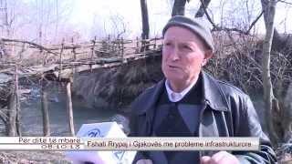 Fshati Rrypaj i Gjakoves me probleme infrastrukturore 20.02.2015