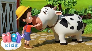 The Cow Song for kids + many more nursery rhymes | HeyKids