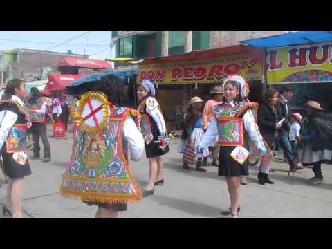 negreria de mujeres (pasacalle) sapallanga 2013
