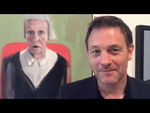 Richard Twose Interview - Bp Portrait Award 2014 (2nd Prize) video