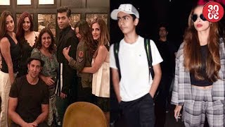 Karan Johar Chills With Hrithik-Sussanne In NYC | Malaika's Stylish Airport Look With Arbaaz & Son