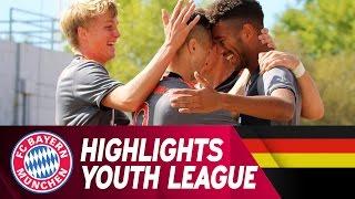 Highlights: Atlético Madrid - FC Bayern   UEFA Youth League