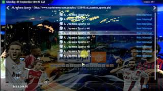 All Sports Channels On XBMC {NAVI-X Server}