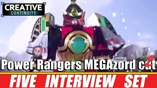 Power Rangers MEGAzord cut 2 ;  interviews with the original rangers - Creative Continuity Collected