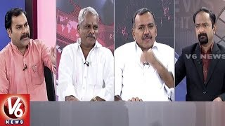 Special Debate On CWC Meeting and Farmers Protest | Good Morning Telangana