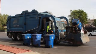 AW Autocar/Heil Curotto Garbage Truck on Carted Recycle