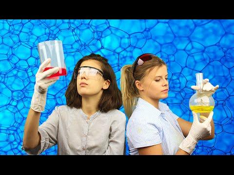 7 химических экспериментов в домашних условиях