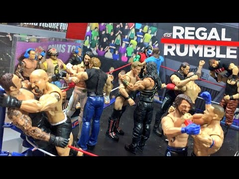 WWE ROYAL RUMBLE FIGURE PARODY! GTS WRESTLING REGAL RUMBLE ELITE PPV EVENT!