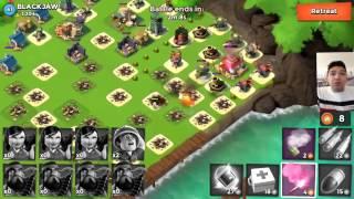Chiến game Boom Beach với top 1 thế giới – BlackJaw
