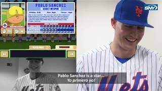 Brandon Nimmo is back with the Mets, and playing Backyard Baseball!